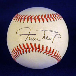 Willie Mays Single Signed Baseball. This vintage baseball was hand signed by Willie Mays on a Rawlings - Bart Giamatti, Official National League Baseball. It is a beautiful, bold autograph! The overall condition is NR-MT to MINT!