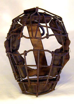 Early 1900's Baseball Catcher's Mask