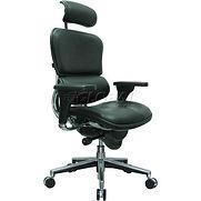 Eurotech Ergohuman Executive High Back Chair – LE9ERG(N) – Black Leather