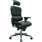 Eurotech Ergohuman Executive High Back Chair – LE9ERG(N) – Black Leather