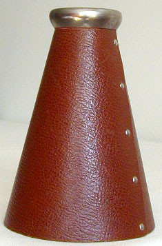 1910-20's Lowe & Campbell Megaphone with Decal Logo