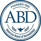 The American Board of Dermatology's Logo