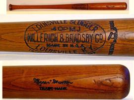 1932 Pepper Martin Louisville Slugger Baseball Bat
