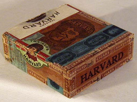 1901 Harvard Football Cigar Box