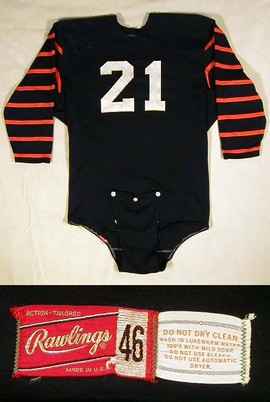 1960's Princeton University Football Jersey made by Rawlings