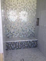 Custom Wave Gradient Mosaic