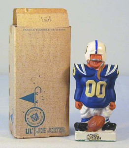 """1960's Baltimore Colts Fred Kail 5"""" Football Figure"""