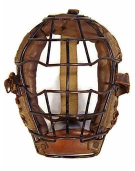 Early 1900's Baseball Catcher's Mask - GoldSmith
