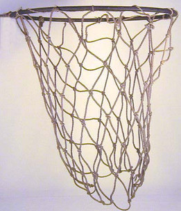 Vintage 1920's D&M Basketball Goal with Net in the Box.
