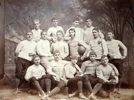 1897 Yale University Football Team Photograph