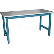 WSI Laboratory Work Bench PB3696-WB – 96″W x 36″D Adj. Plastic Laminate – Blue