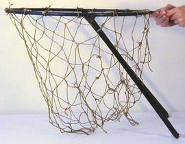 1910's Wrought Iron Basketball Goal with Net