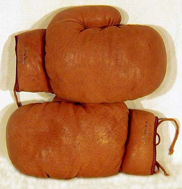 1910's Stahl & Dean Leather Boxing Gloves
