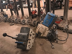 TS 605 HAWG Core Drill Motor (includes drill stand and carriage)