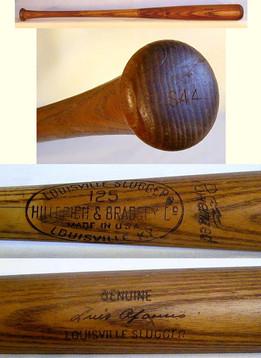 1960's Luis Aparicio Professional Game Used Baseball Bat