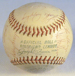 1970 Chicago White Sox Team Signed Baseball, on a Reach OAL Cronin.