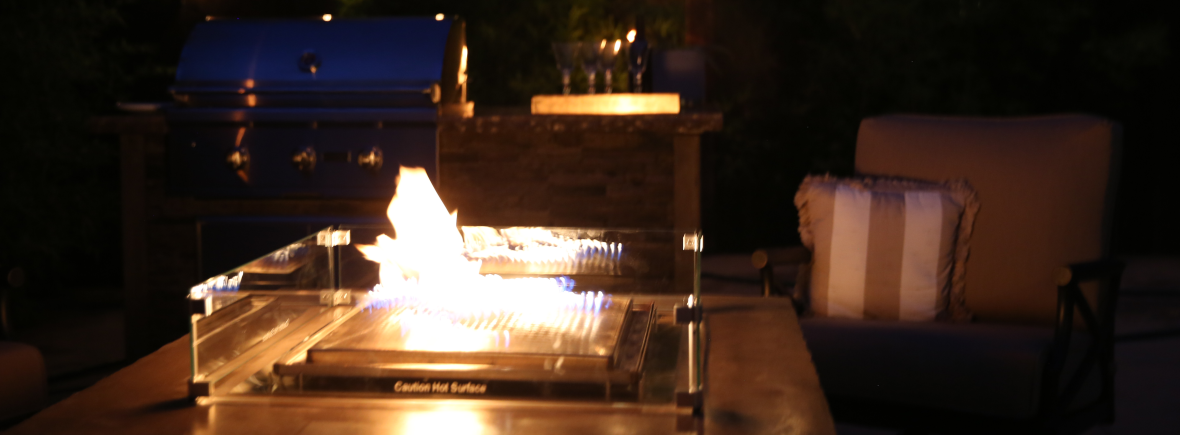 Blazing Beats Fire Pits