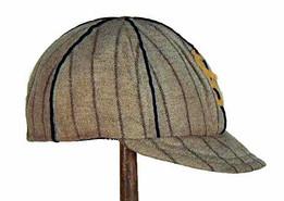 Vintage Baseball Cap - 1910's short brim style