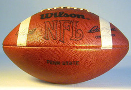 Penn State University Game Used Football from 1982