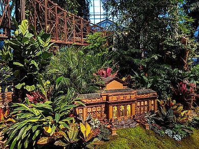 New York Botanical Garden Train Show