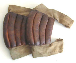 Antique Basketball Knee Pads from the 1910's