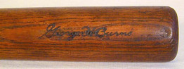 1928-31 Extremely Rare (made for only 4 years), George Burns Spalding Autograph Baseball Bat