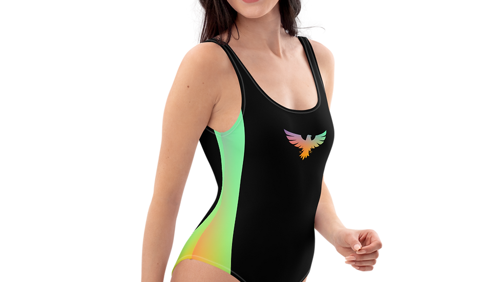 Women's Phantom Rainbow One-Piece Swimsuit