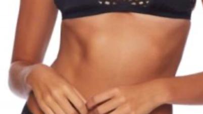 Thira Mid-Rise Two-Piece Bikini - Black