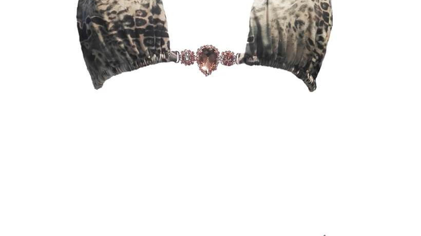 Rachel Triangle Top & Skimpy Bottom - Ocelot