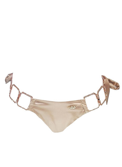 Tessa Tie Side Bottom - Gold