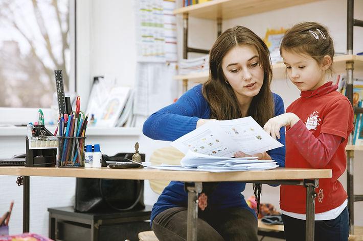 Profesor y alumno