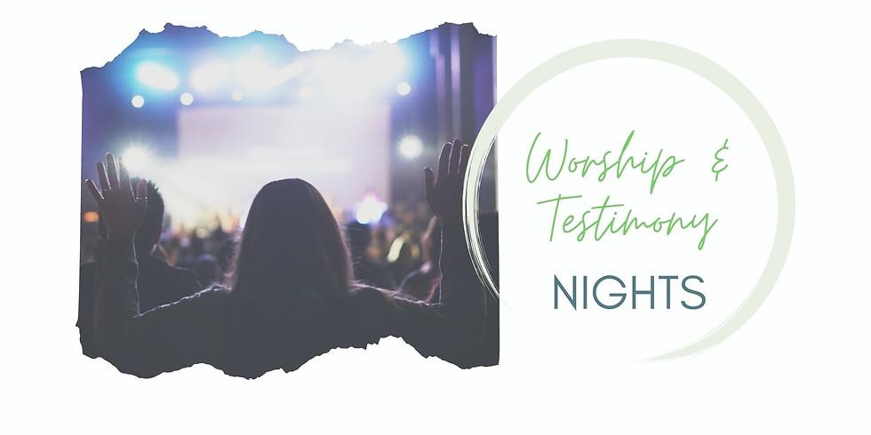 Worship and Testimony Night