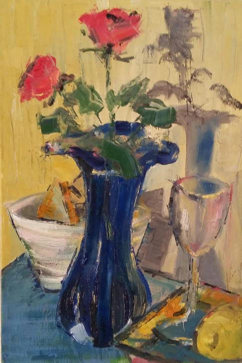 The blue vase 2016