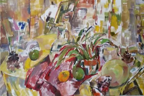 Still life like Cezanne 2015