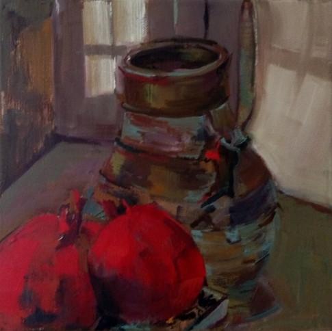 Pomegranate and jug 2017