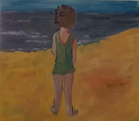 On the beach 2