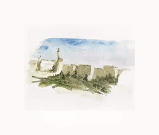 Davids Tower old city Jerusalem