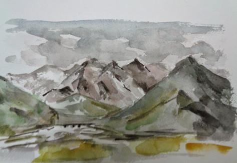 Alaska Toward Mount McKinlley Denali