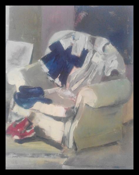 The chair in tthe studio 2014