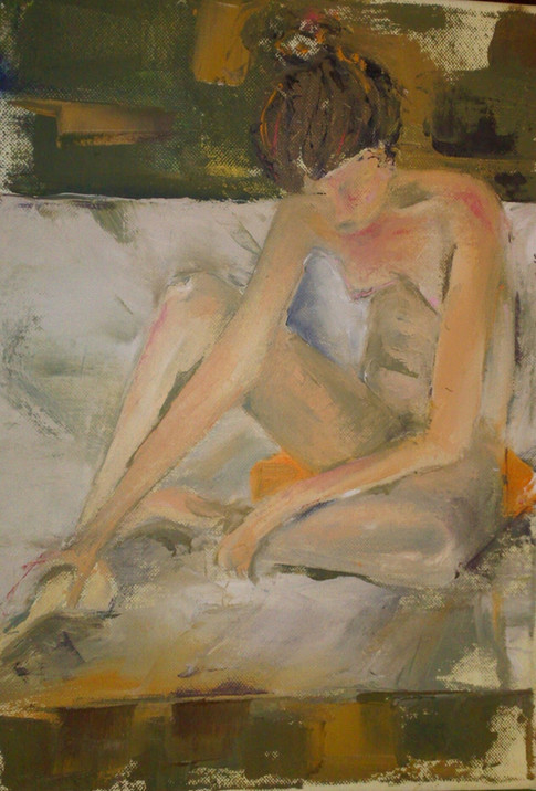 The dancer nude