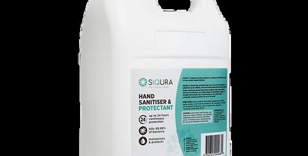 5L SIQURA 24 Hour Hand Sanitiser & Protectant, Foaming Liquid