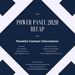 Power Panel Recap