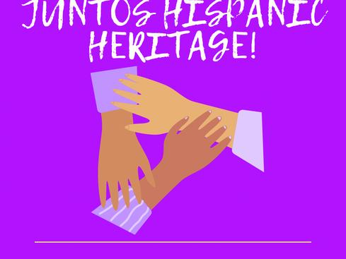 Celebremos Juntos Hispanic Heritage Month!