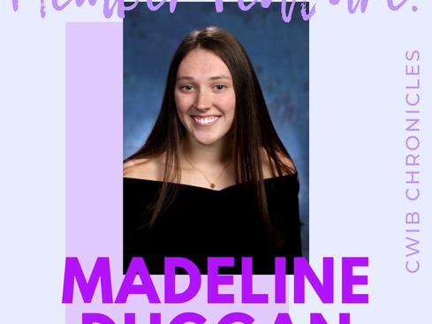 New Member Feature: Madeline Duggan