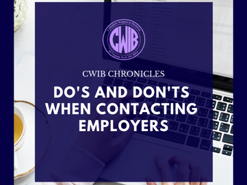 Do's and Don'ts when Contacting Employers