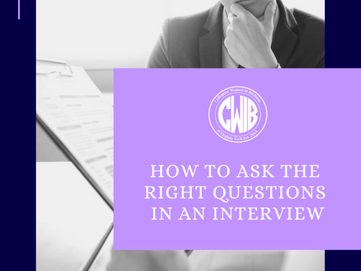 Asking Questions in an Interview