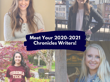 Meet Your 2020-2021 Chronicles Writers!