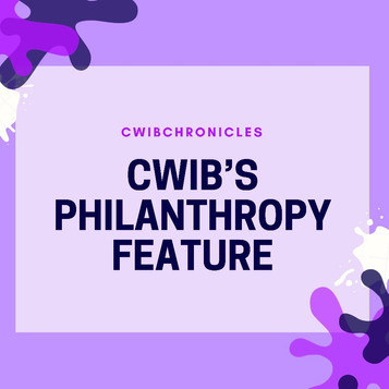CWIB's Philanthropy Feature
