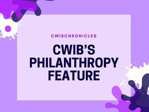CWIB's Philanthropy Feature