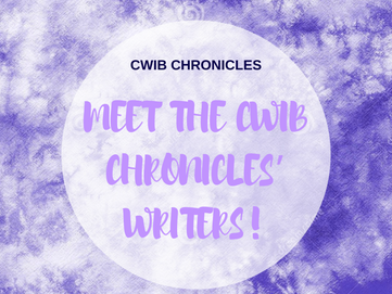 Meet the CWIB Chronicles' Writers!